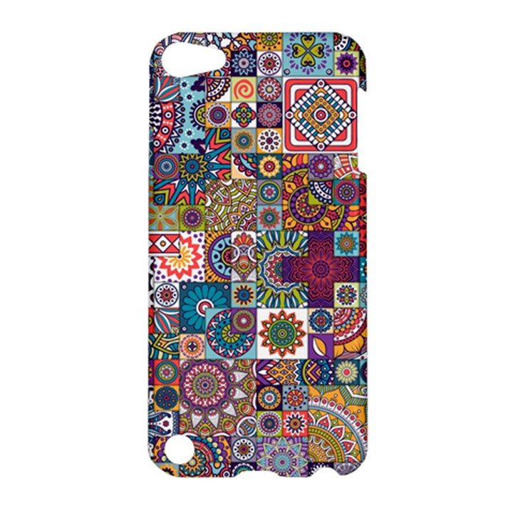 Ornamental Mosaic Background Apple iPod Touch 5 Hardshell Case