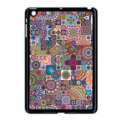 Ornamental Mosaic Background Apple Ipad Mini Case (black)