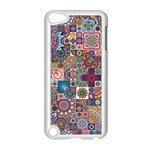 Ornamental Mosaic Background Apple iPod Touch 5 Case (White) Front