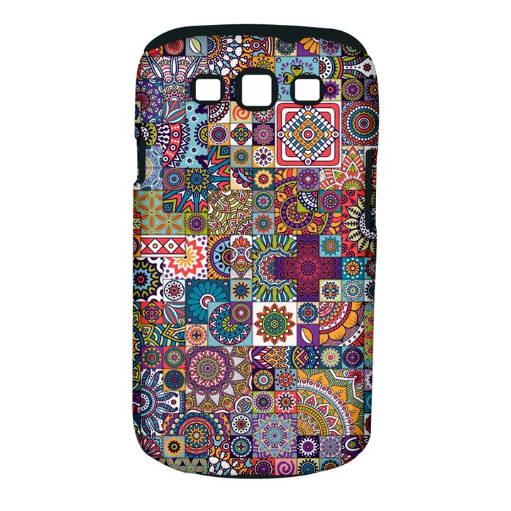 Ornamental Mosaic Background Samsung Galaxy S III Classic Hardshell Case (PC+Silicone)