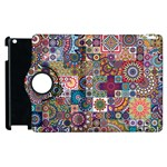 Ornamental Mosaic Background Apple iPad 2 Flip 360 Case Front