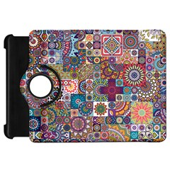 Ornamental Mosaic Background Kindle Fire HD Flip 360 Case