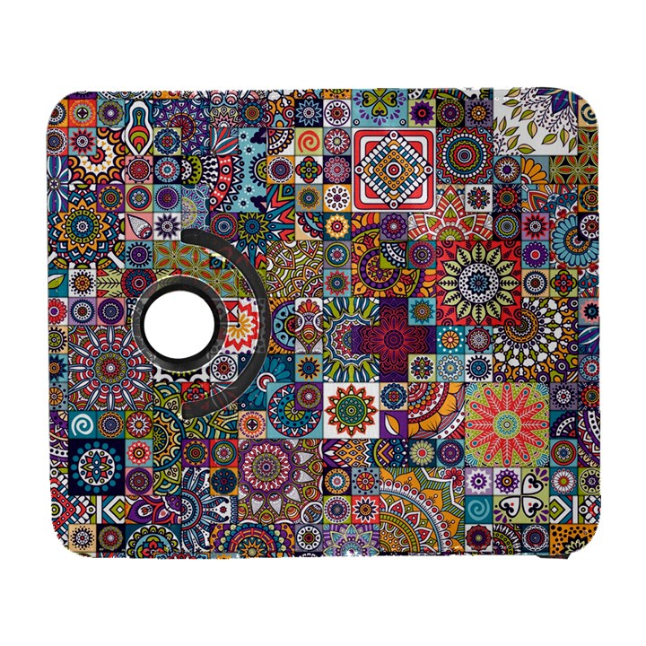 Ornamental Mosaic Background Samsung Galaxy S  III Flip 360 Case