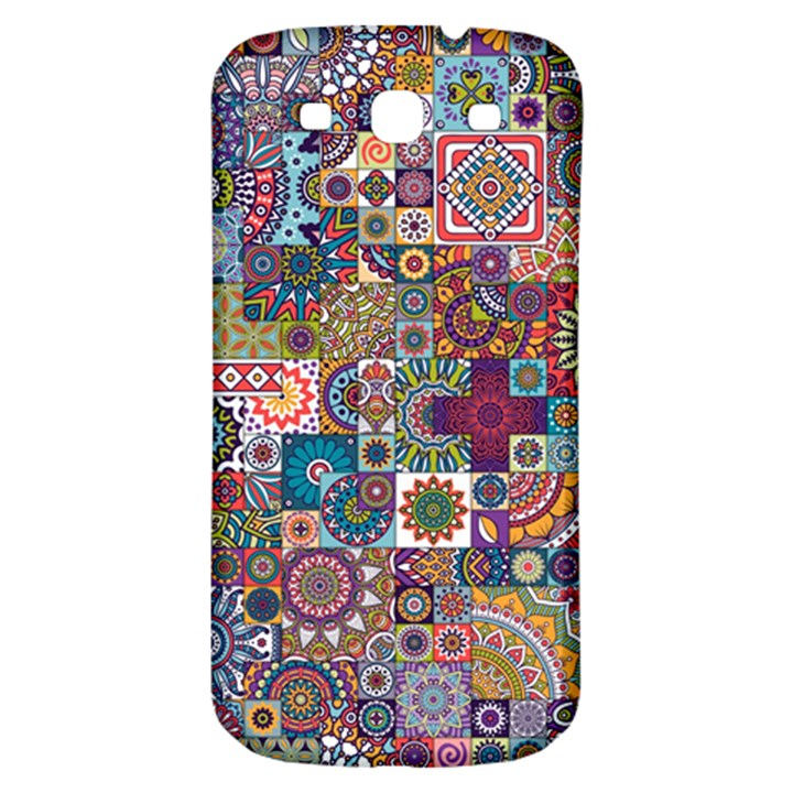 Ornamental Mosaic Background Samsung Galaxy S3 S III Classic Hardshell Back Case
