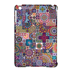 Ornamental Mosaic Background Apple Ipad Mini Hardshell Case (compatible With Smart Cover)