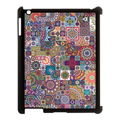 Ornamental Mosaic Background Apple Ipad 3/4 Case (black)