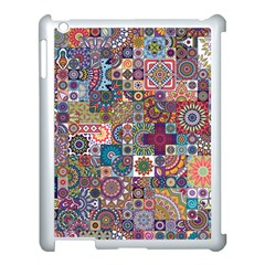 Ornamental Mosaic Background Apple Ipad 3/4 Case (white)