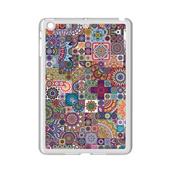 Ornamental Mosaic Background iPad Mini 2 Enamel Coated Cases