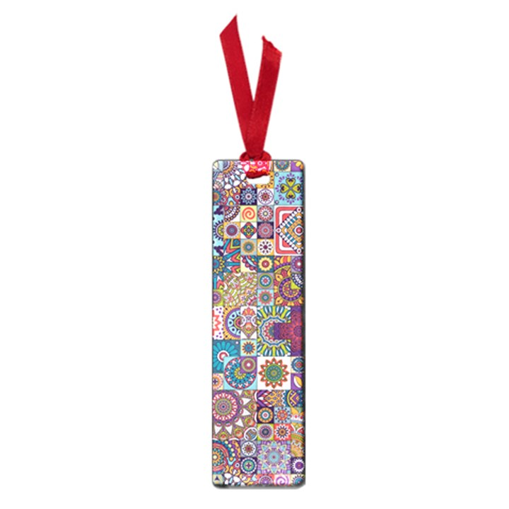 Ornamental Mosaic Background Small Book Marks