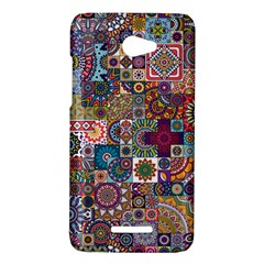 Ornamental Mosaic Background HTC Butterfly X920E Hardshell Case