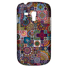 Ornamental Mosaic Background Samsung Galaxy S3 Mini I8190 Hardshell Case