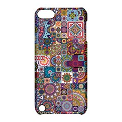 Ornamental Mosaic Background Apple iPod Touch 5 Hardshell Case with Stand