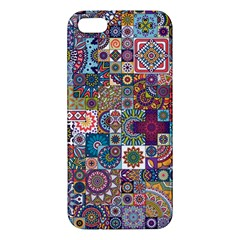 Ornamental Mosaic Background Apple iPhone 5 Premium Hardshell Case
