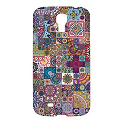 Ornamental Mosaic Background Samsung Galaxy S4 I9500/I9505 Hardshell Case