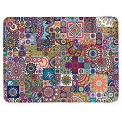 Ornamental Mosaic Background Samsung Galaxy Tab 7  P1000 Flip Case