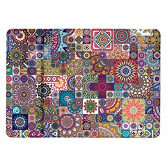 Ornamental Mosaic Background Samsung Galaxy Tab 10 1  P7500 Flip Case
