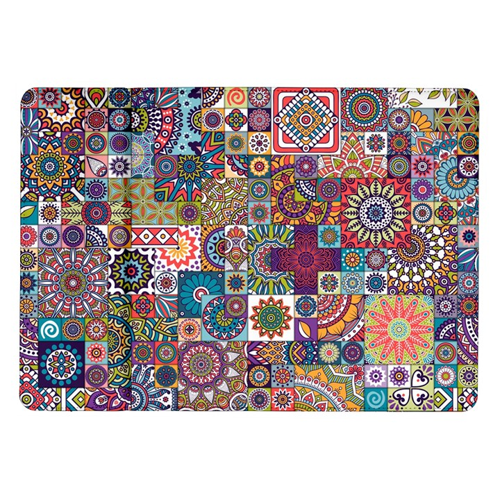 Ornamental Mosaic Background Samsung Galaxy Tab 10.1  P7500 Flip Case