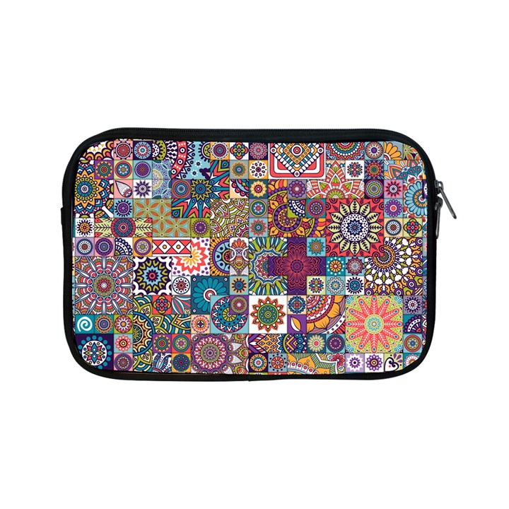 Ornamental Mosaic Background Apple iPad Mini Zipper Cases