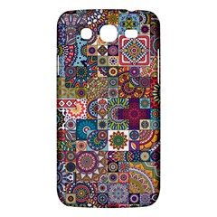 Ornamental Mosaic Background Samsung Galaxy Mega 5.8 I9152 Hardshell Case