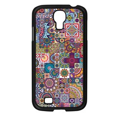 Ornamental Mosaic Background Samsung Galaxy S4 I9500/ I9505 Case (Black)