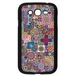 Ornamental Mosaic Background Samsung Galaxy Grand DUOS I9082 Case (Black) Front