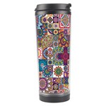 Ornamental Mosaic Background Travel Tumbler Center