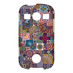 Ornamental Mosaic Background Samsung Galaxy S7710 Xcover 2 Hardshell Case