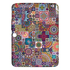 Ornamental Mosaic Background Samsung Galaxy Tab 3 (10 1 ) P5200 Hardshell Case