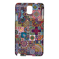 Ornamental Mosaic Background Samsung Galaxy Note 3 N9005 Hardshell Case