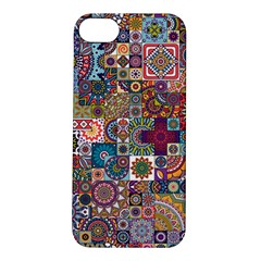 Ornamental Mosaic Background Apple iPhone 5S/ SE Hardshell Case