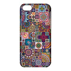 Ornamental Mosaic Background Apple Iphone 5c Hardshell Case