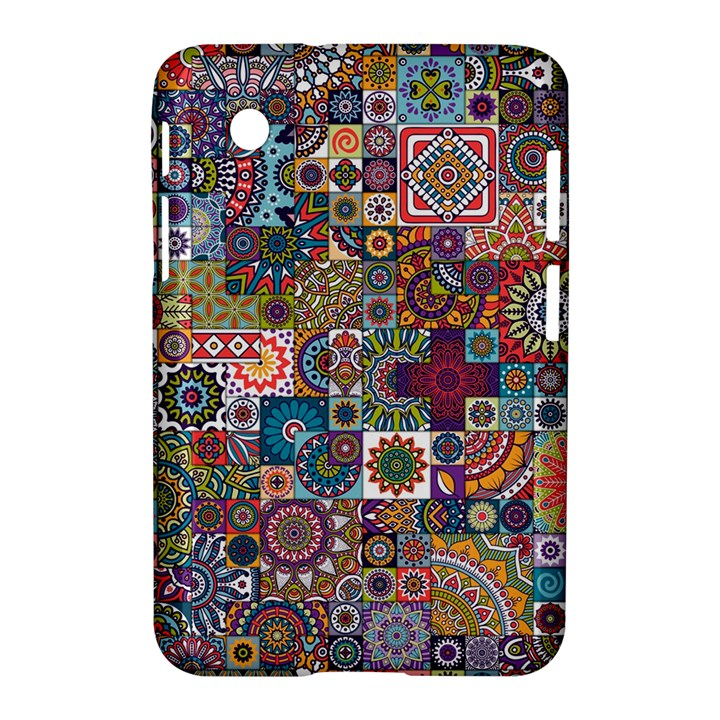 Ornamental Mosaic Background Samsung Galaxy Tab 2 (7 ) P3100 Hardshell Case