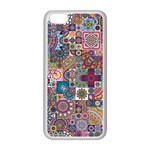 Ornamental Mosaic Background Apple iPhone 5C Seamless Case (White) Front