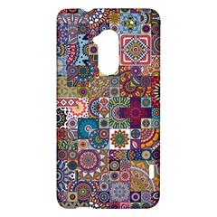 Ornamental Mosaic Background HTC One Max (T6) Hardshell Case