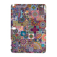 Ornamental Mosaic Background Samsung Galaxy Note 10 1 (p600) Hardshell Case