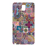 Ornamental Mosaic Background Samsung Galaxy Note 3 N9005 Hardshell Back Case Front
