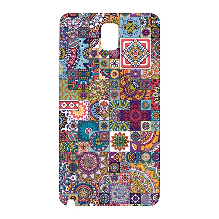 Ornamental Mosaic Background Samsung Galaxy Note 3 N9005 Hardshell Back Case
