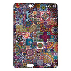 Ornamental Mosaic Background Amazon Kindle Fire HD (2013) Hardshell Case