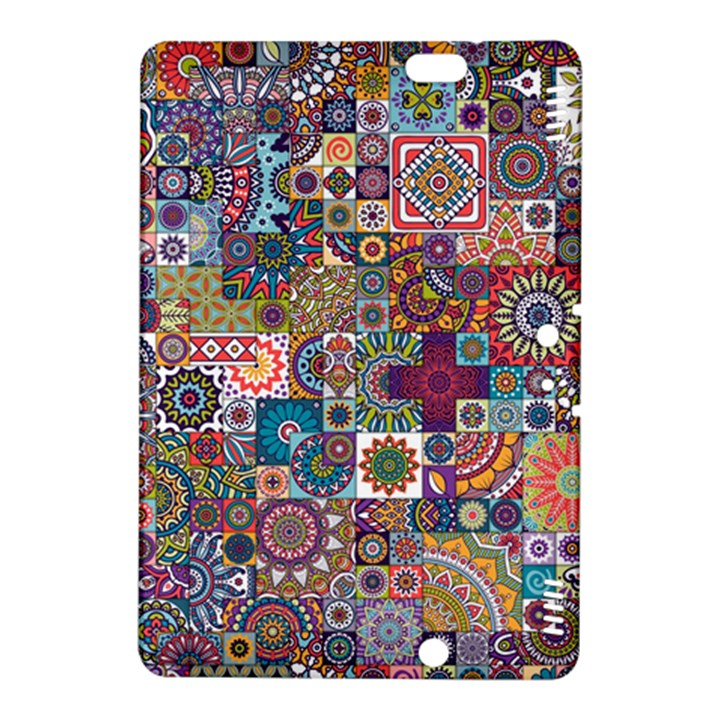 Ornamental Mosaic Background Kindle Fire HDX 8.9  Hardshell Case