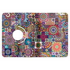Ornamental Mosaic Background Kindle Fire HDX Flip 360 Case