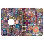Ornamental Mosaic Background Kindle Fire HDX Flip 360 Case Front