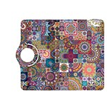 Ornamental Mosaic Background Kindle Fire HDX 8.9  Flip 360 Case Front