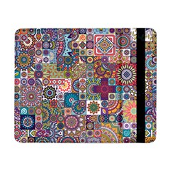 Ornamental Mosaic Background Samsung Galaxy Tab Pro 8 4  Flip Case
