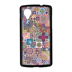 Ornamental Mosaic Background Nexus 5 Case (Black)