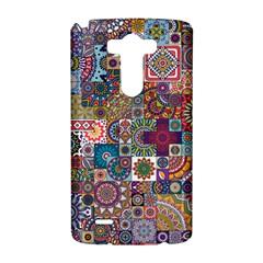 Ornamental Mosaic Background LG G3 Hardshell Case