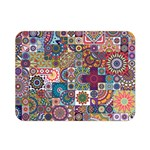 Ornamental Mosaic Background Double Sided Flano Blanket (Mini)  35 x27 Blanket Back