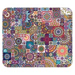 Ornamental Mosaic Background Double Sided Flano Blanket (Small)  50 x40 Blanket Back
