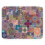 Ornamental Mosaic Background Double Sided Flano Blanket (Large)  80 x60 Blanket Front