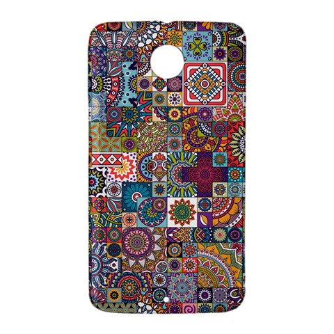 Ornamental Mosaic Background Nexus 6 Case (White)