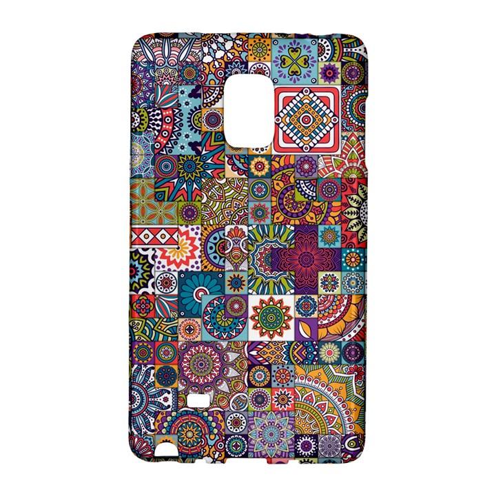Ornamental Mosaic Background Galaxy Note Edge